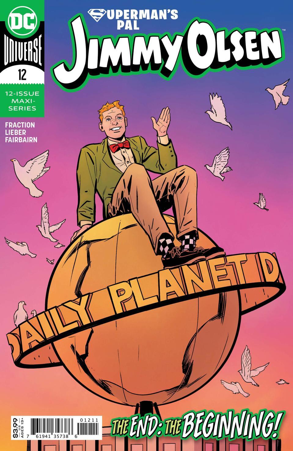 Cover of Superman's Pal Jimmy Olson Fraction Lieber humorous superhero comics 2020