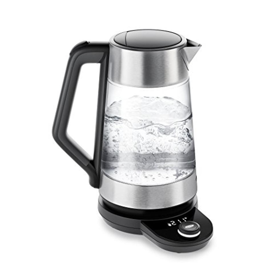 OXO Brew Clarity Adjustable Temperature Kettle, Electric, Clear