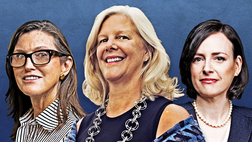 Cathie Wood, Nancy Zevenbergen, Karina Funk