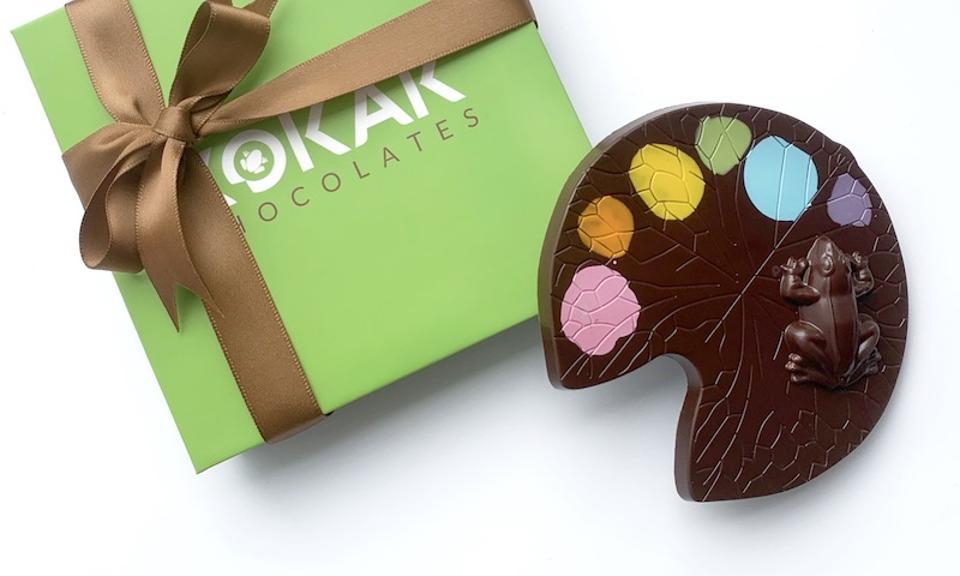 Artist Palette Heirloom 70% Dark Chocolate Bar, Kokak Chocolates