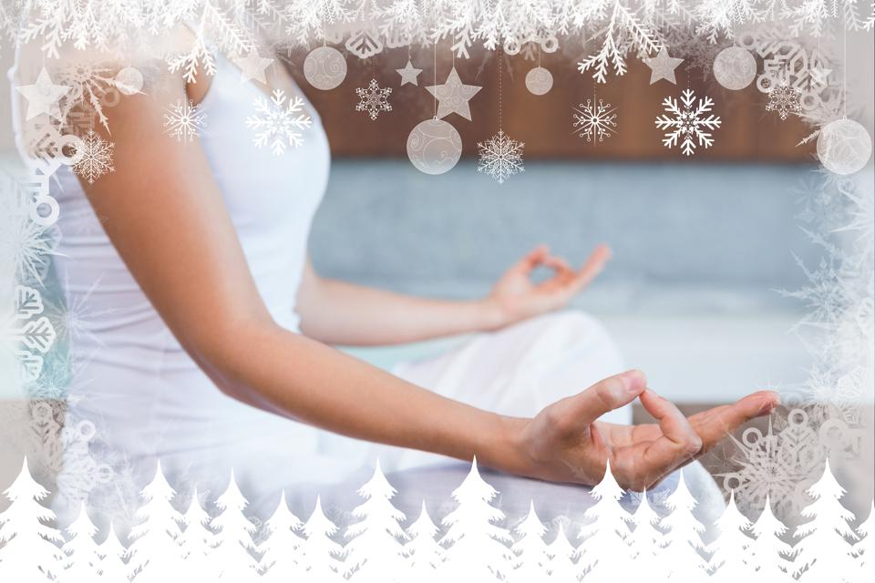 maintaining peace, reducing stress, increasing mental wellness during holiday