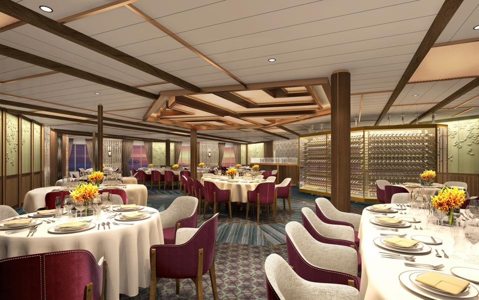 Seabourn Venture expedition ship The Restaurant