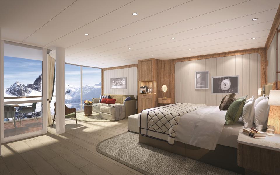 Seabourn expedition ships Panorama Veranda Suite