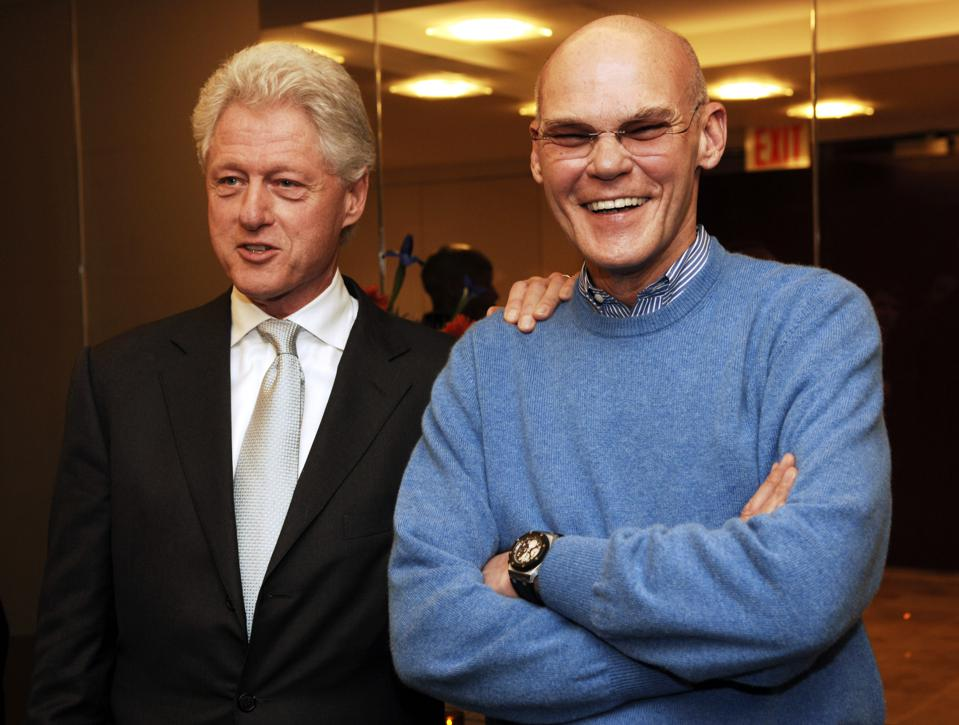Former President Bill Clinton Hosts a Book Party for James Carville and Paul Begala's New Book ″Take It Back″