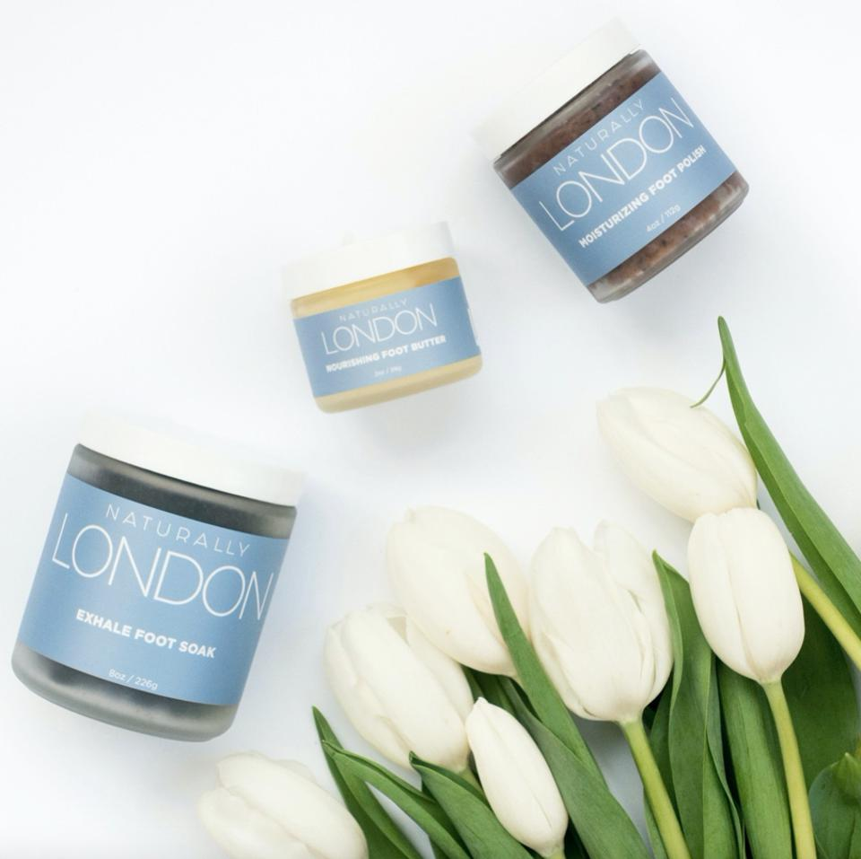 Foot Care = Self Care with this all-inclusive spa pedicure kit from Naturally London