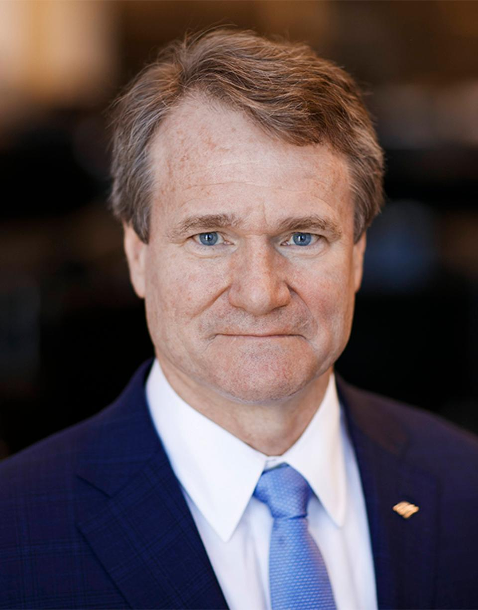 Brian T. Moynihan, Chairman and CEO of Bank of America