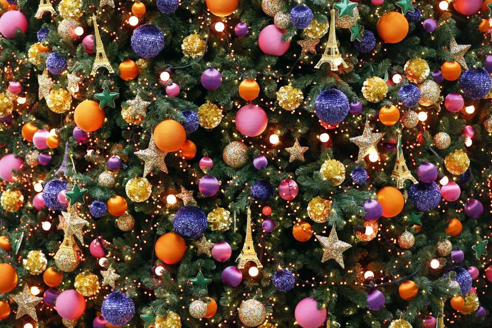 Atmosfera natalizia a Parigi