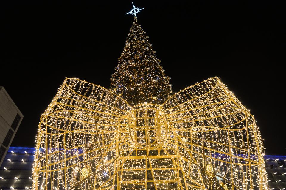 Decorazione Di Natale A Cracovia