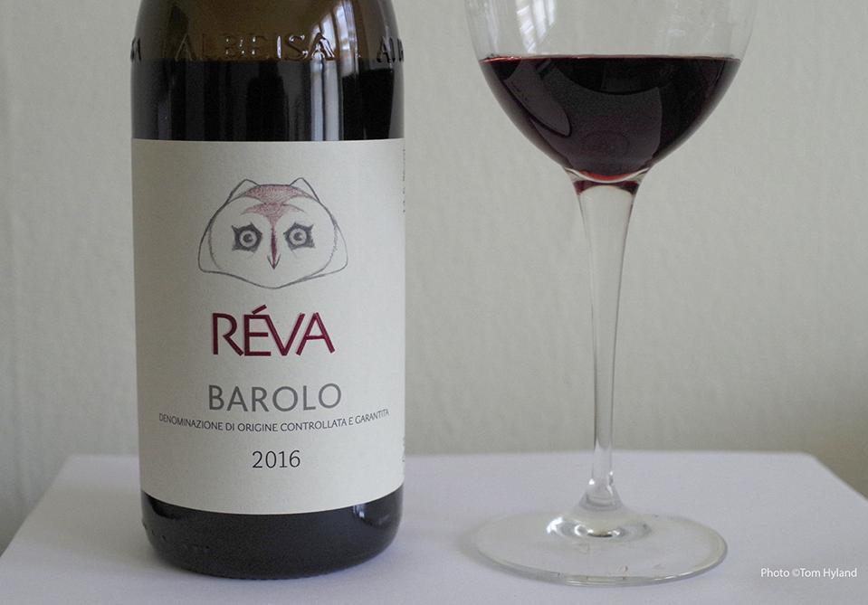 Réva Barolo 2016, from the Réva estate in Monforte d'Alba
