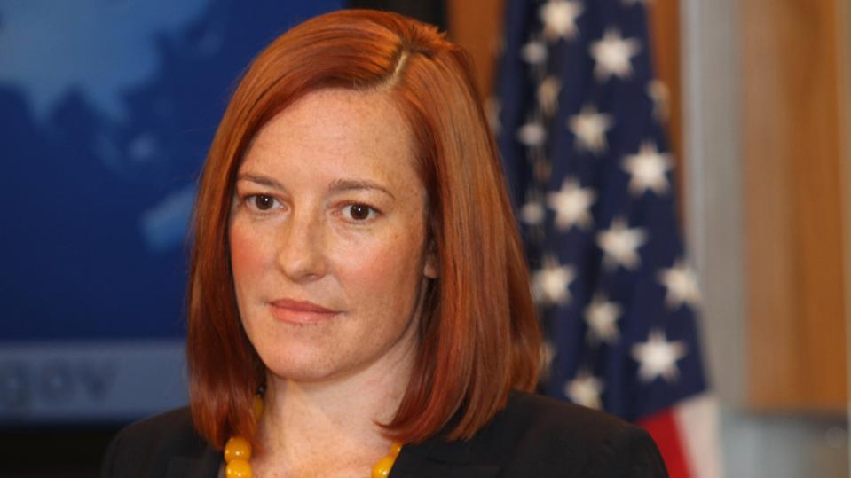 Press conference of John Kirby and Jennifer Psaki in Washington
