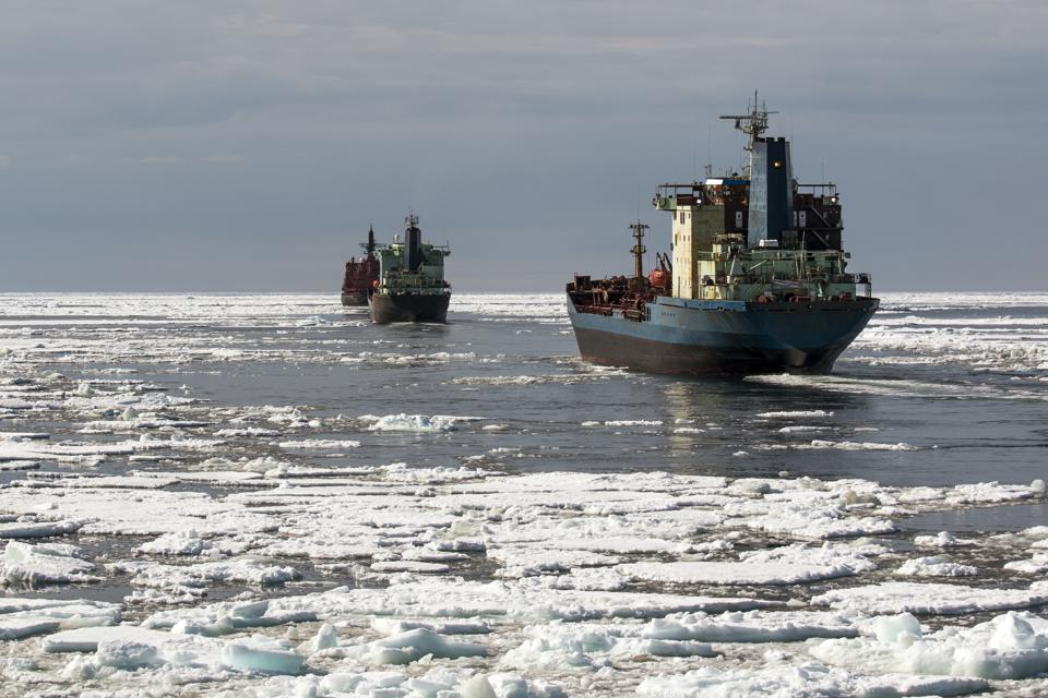 Shipping in the Arctic could be particularly at risk from VLSFO due to the cold weather impacts on VLSFO storage and flow