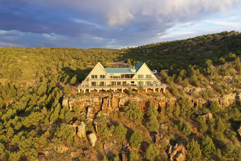 Canyon Madness Ranch is perched in the middle of the wilderness in northeastern New Mexico