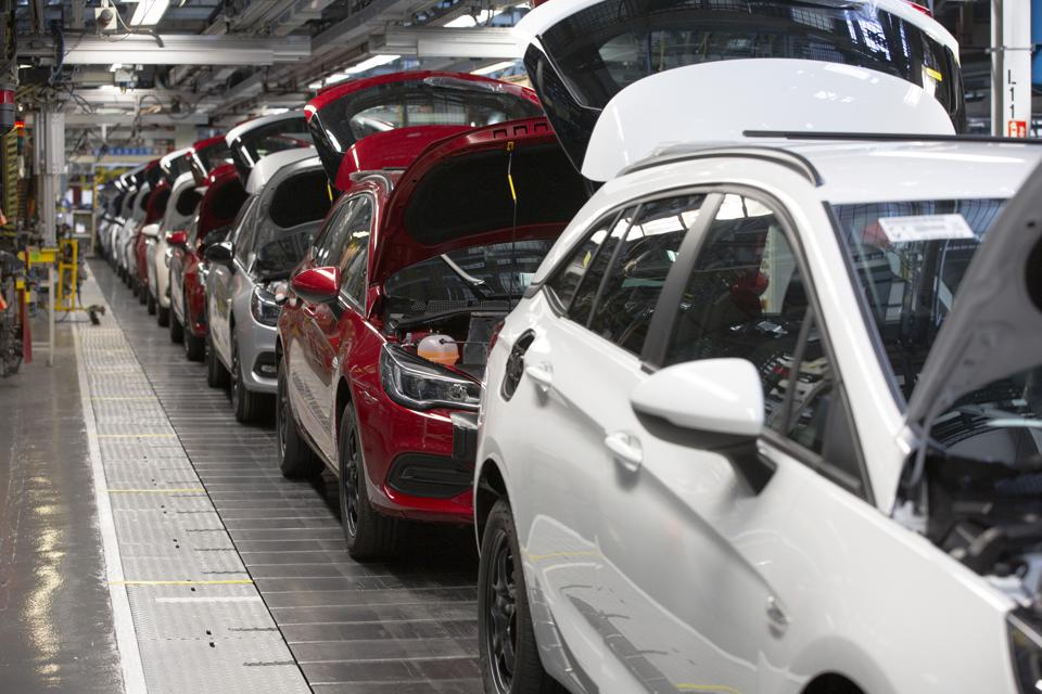 United Kingdom - Ellesmere Port - Vauxhall Car Factory Prepares For Post-COVID Re-opening