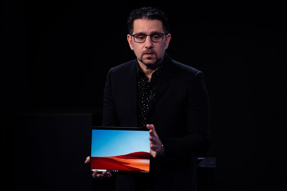 Inside The Microsoft Corp. Hardware Event
