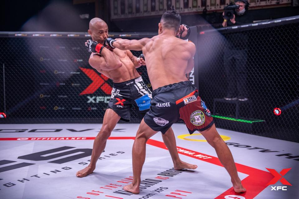 Andre Soukhamthath defeated Guilherme Faria, November 11, 2020 in Atlanta, Georgia XFC 43