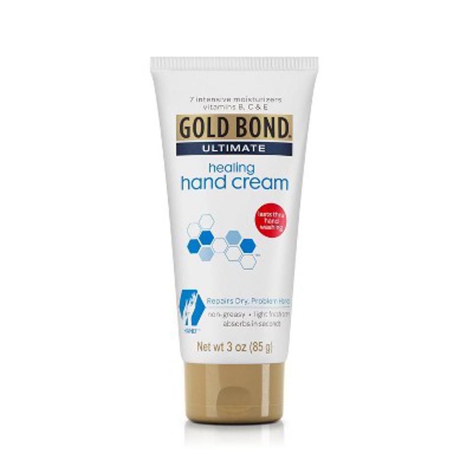 Gold Bond Ultimate Healing Hand Cream in 3oz tube.