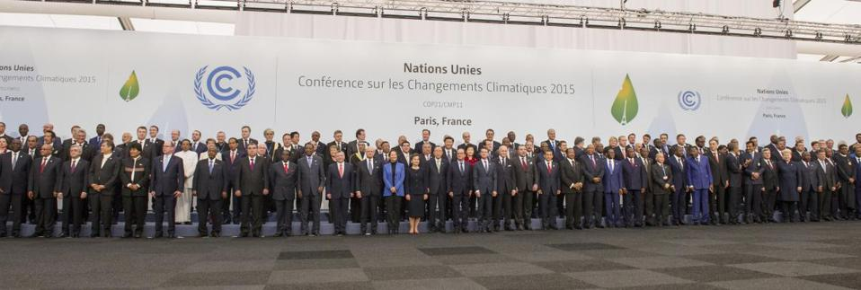 Dec 2015: Over 150 world leaders in Paris to negotiate the global Climate Treaty