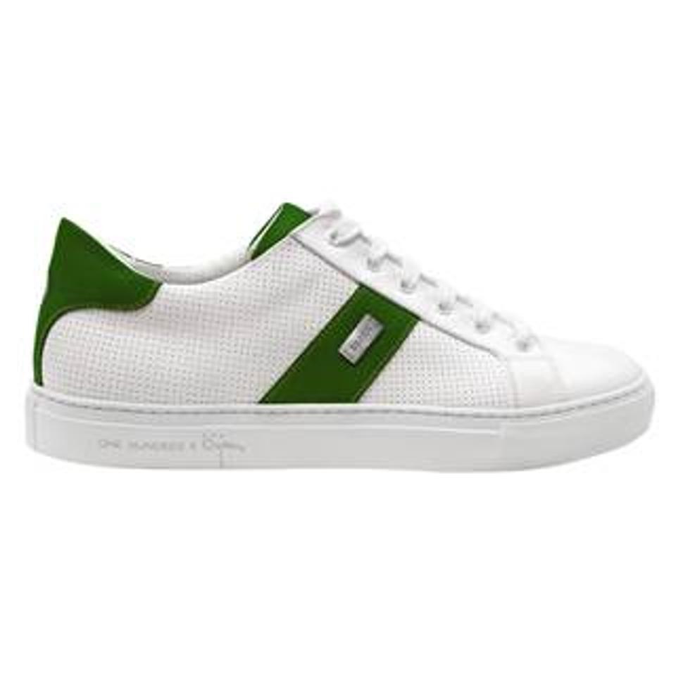 Bijan Leather Sneakers
