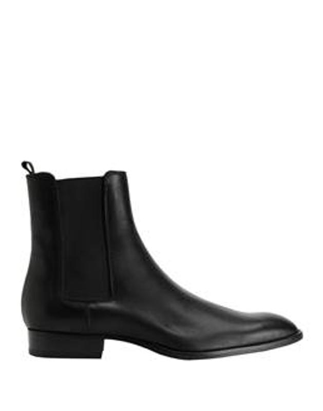 8 by YOOX Leather Chelsea Boots