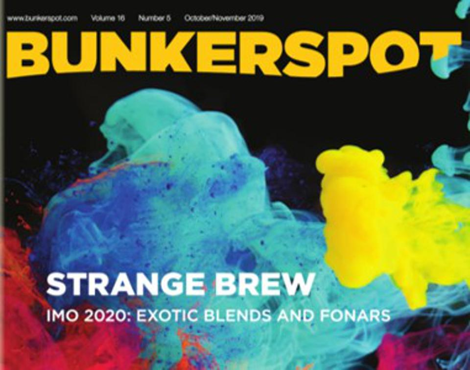 Trade publications referred to VLSFO as a 'strange brew'