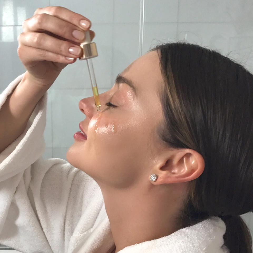 Miranda Kerr para Kora Organics