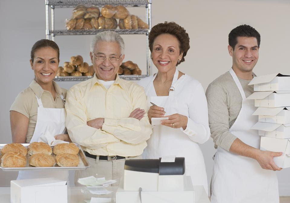 Hispanic family owned bakery