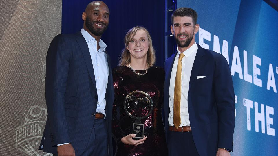 Katie Ledecky @ 2017 Golden Goggle Awards