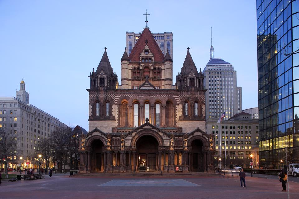 Trinity Church and Copley Square