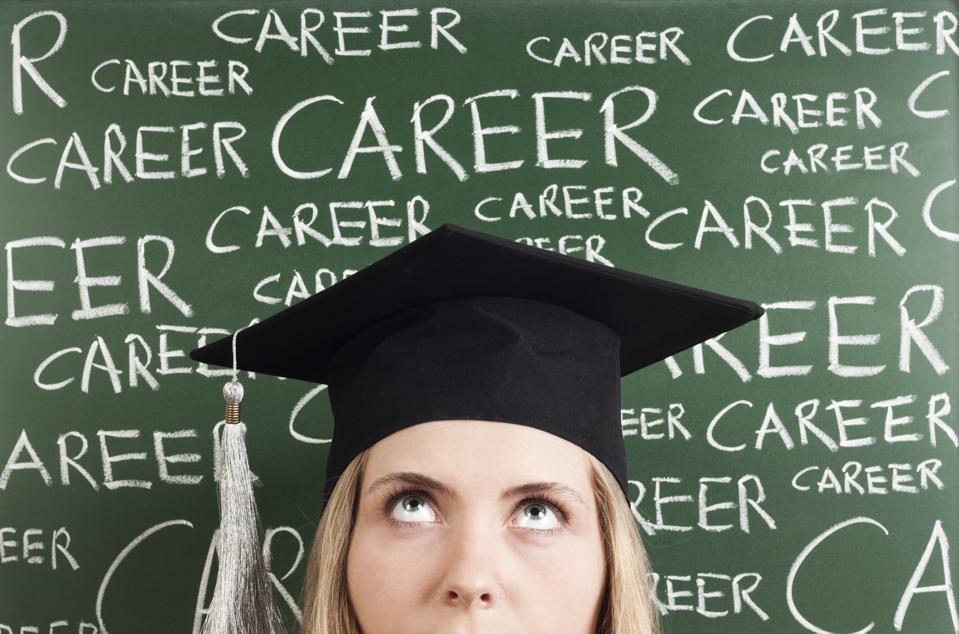 Graduate focused on career