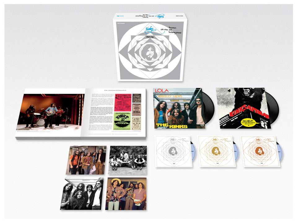 A special 50th anniversary reissue of the 1970 album 'Lola Versus Powerman And The Moneygoround, Part One' by The Kinks is now available on CD and vinyl in a variety of formats via BMG