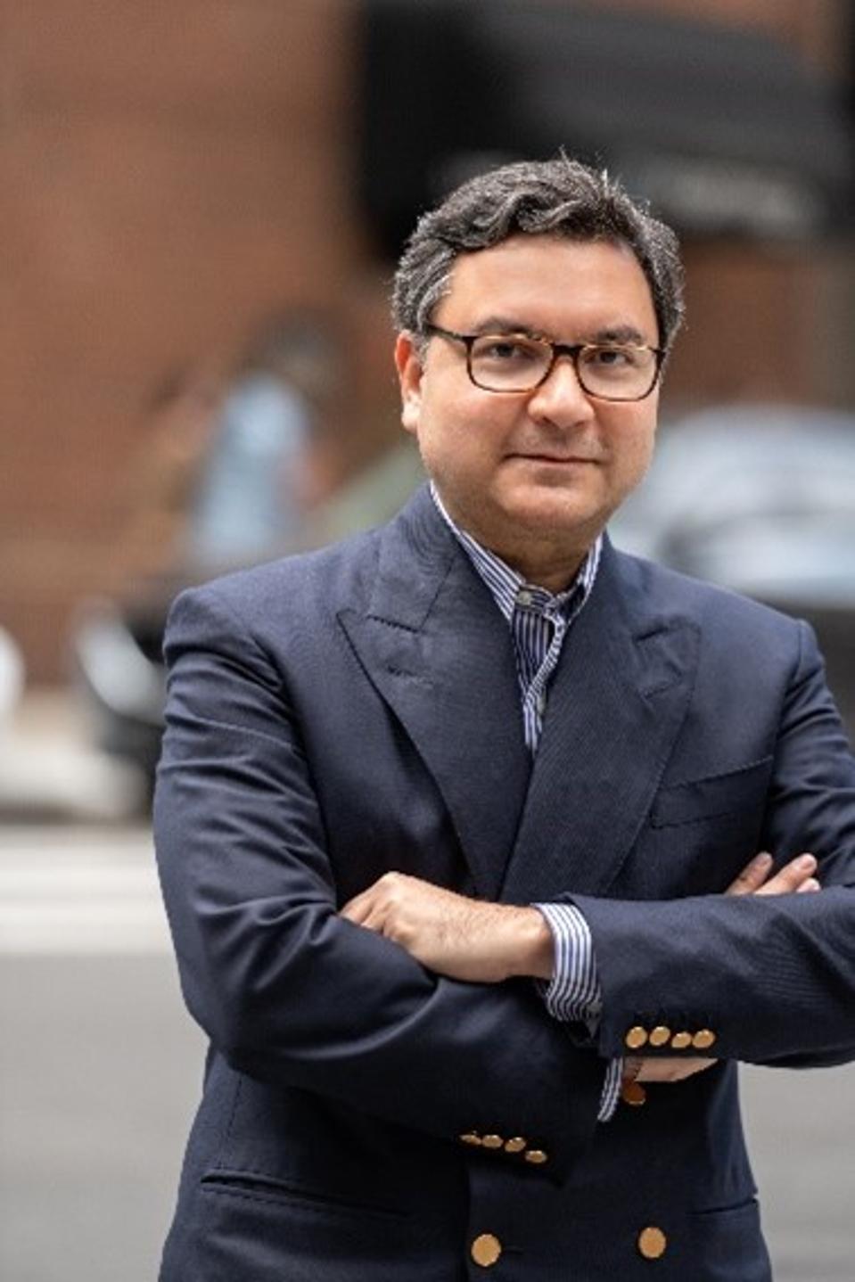 Here is president of Luxury Portfolio International Mickey Alam Khan