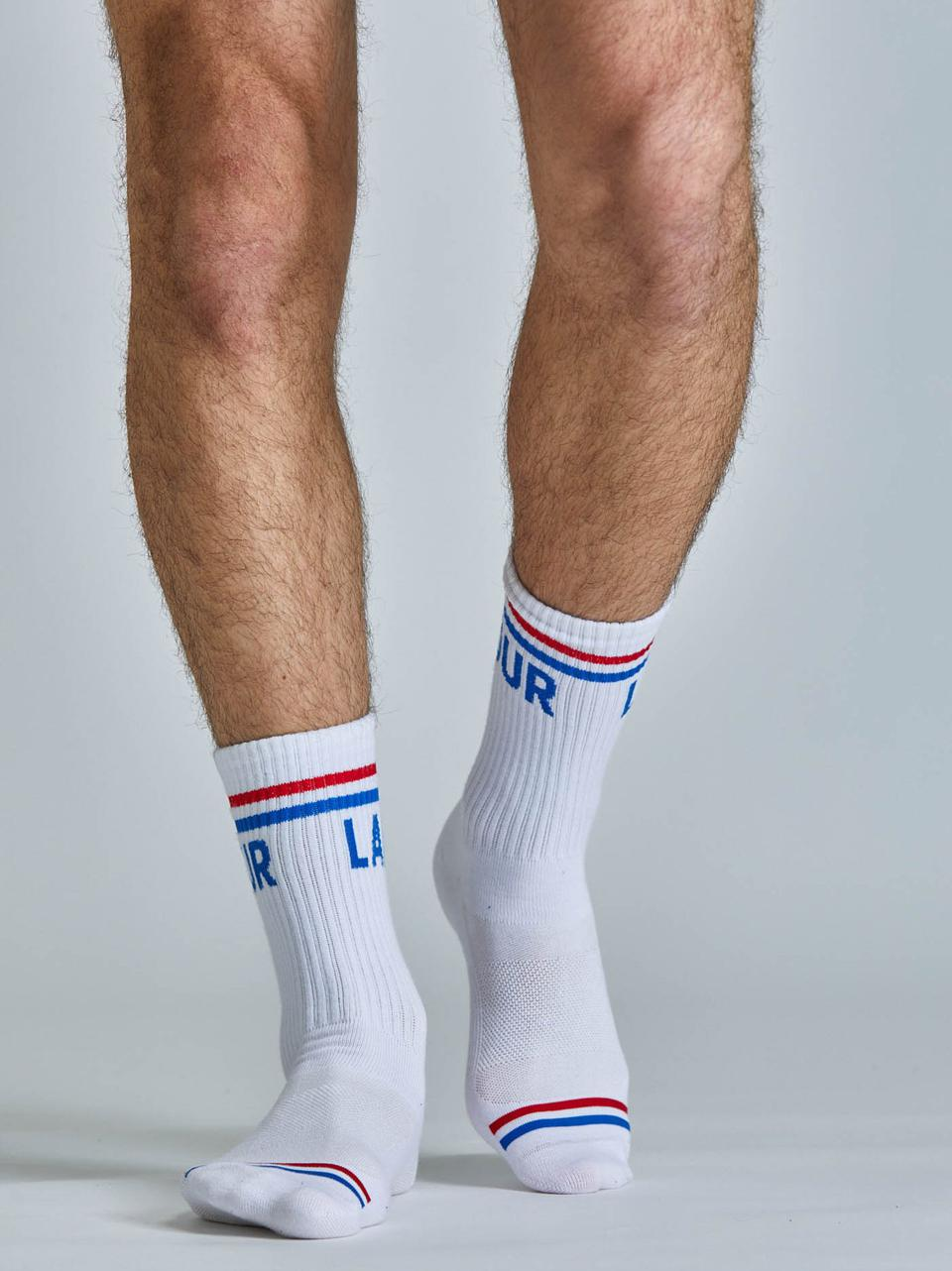 The all-new Crew socks from Fourlaps