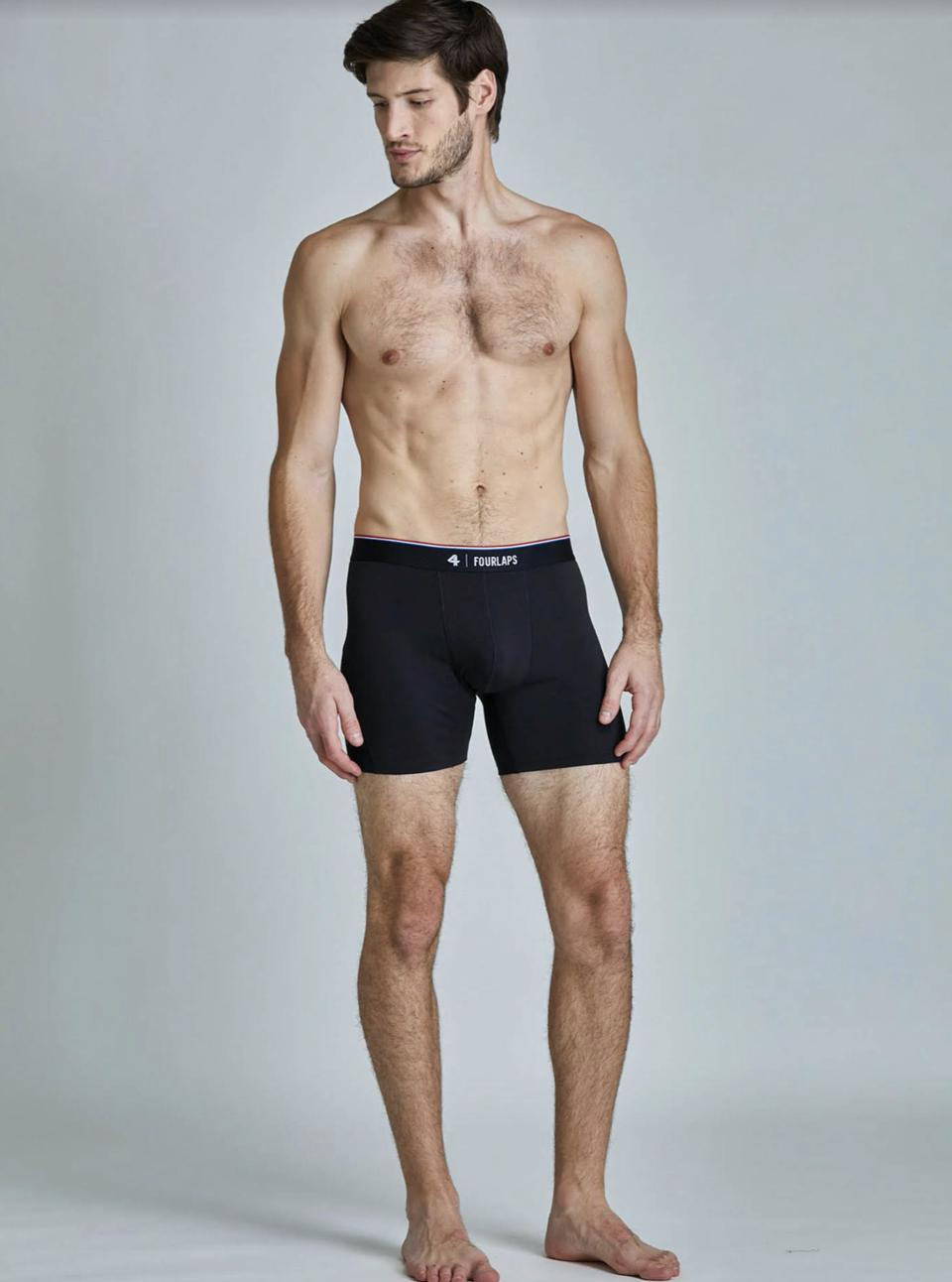 The all-new Boxer Briefs from Fourlaps
