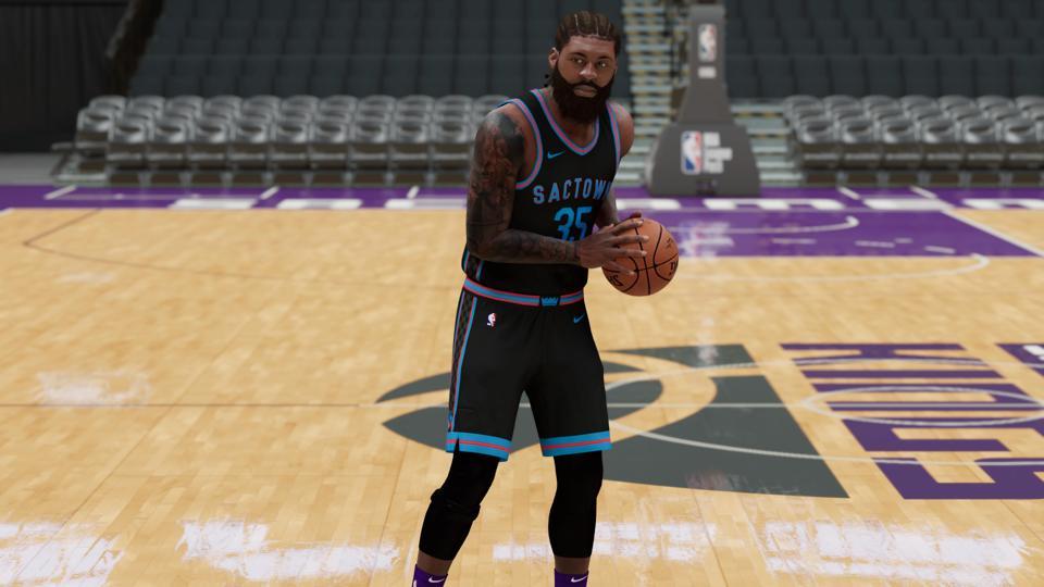 NBA 2K21 in custom roster