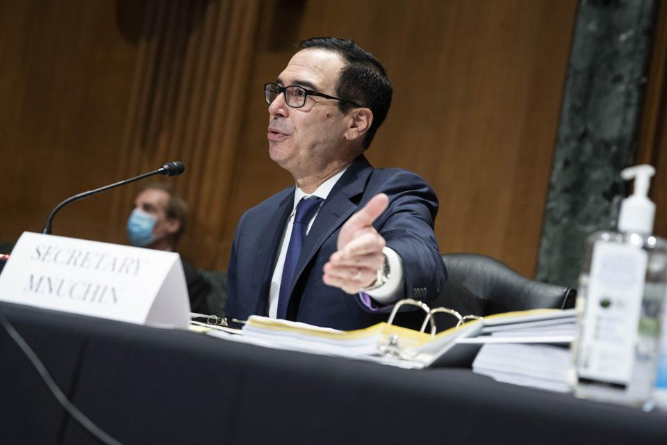 Treasury Secretary Mnuchin Testifies Before Congress On CARES Act