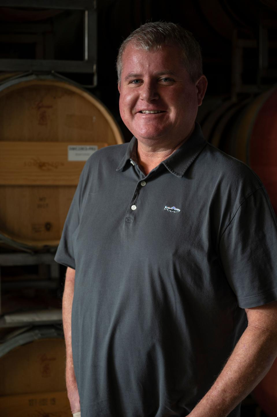 Craig Becker general manager, co-founder and director of winemaking of Somerston Estate in Napa Valley