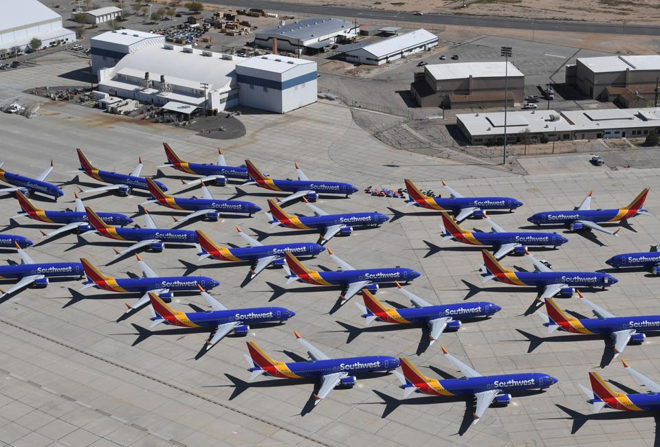 Fleets of brand new Boeing 737 Max jets were grounded after a software failure from Boeing was introduced without informing the crew