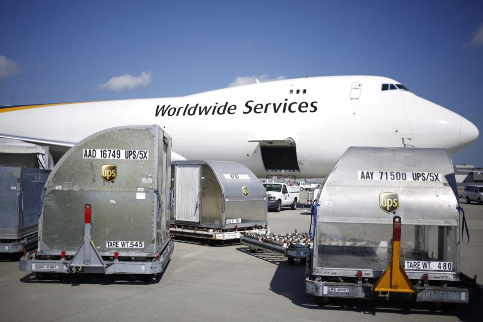 Inside The UPS Worldport Facility Ahead Of Earnings Figures