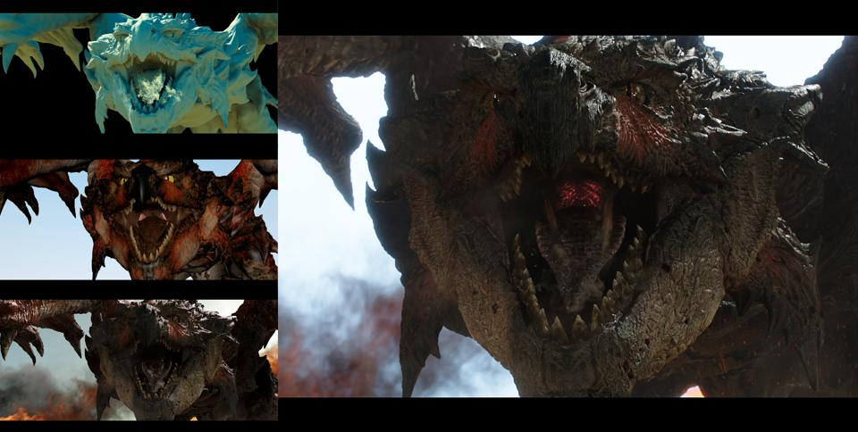 Monster Hunter VFX Progression