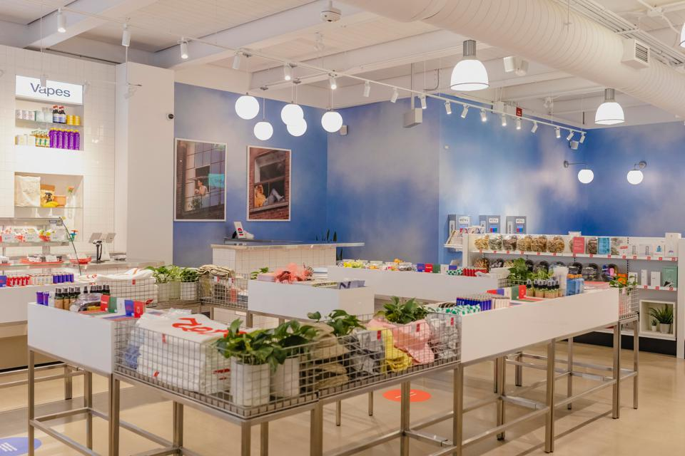 Superette Summerhill, the storefront that just won a Clio award for design.