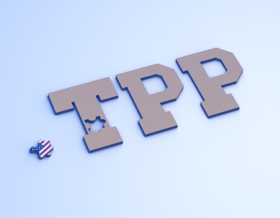 US and TPP, US out of TPP