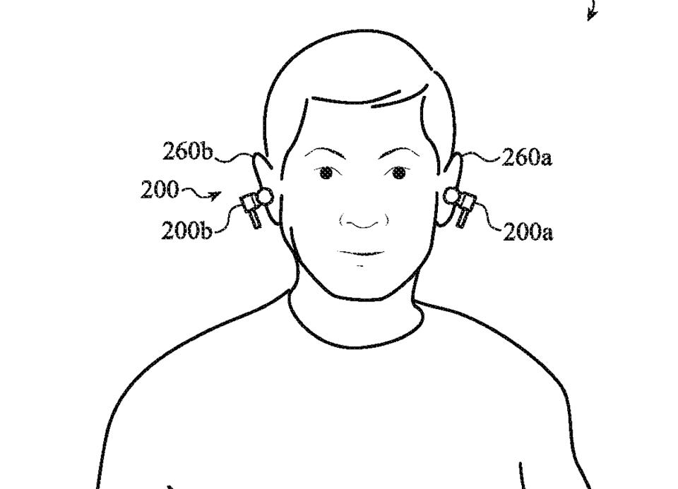A patent indicates new features for AirPods Pro.