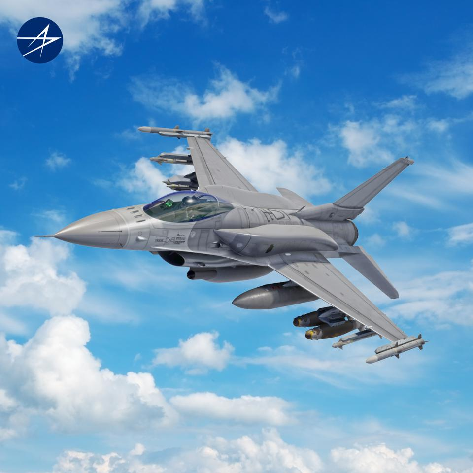 A Lockheed rendering of the F-16V or Block 70/72 Viper.