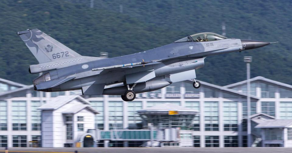 A RoCAF F-16A. Taiwan has two wings-worth of F-16s, 144 of which are slated for upgrade.