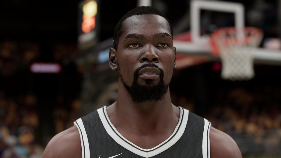 Kevin Durant in NBA 2K21