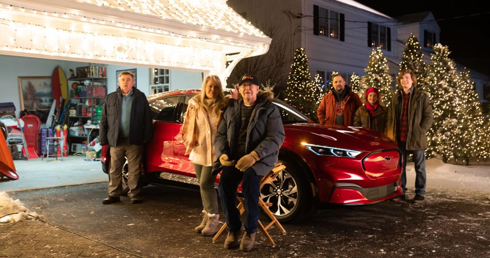 Ford Connects Mustang Mach E To 'Christmas Vacation' In New Ad