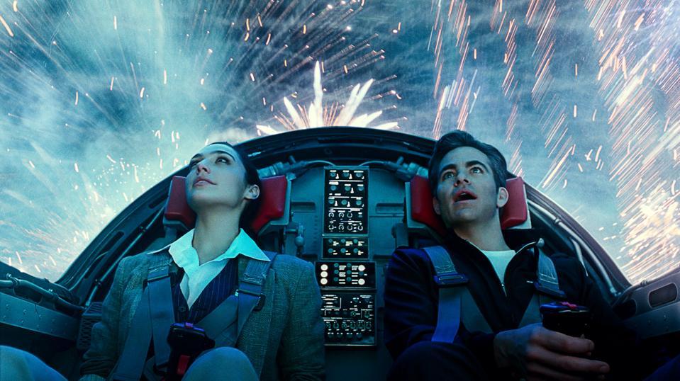 Gal Gadot and Chris Pine in Warner's ″Wonder Woman 1984″