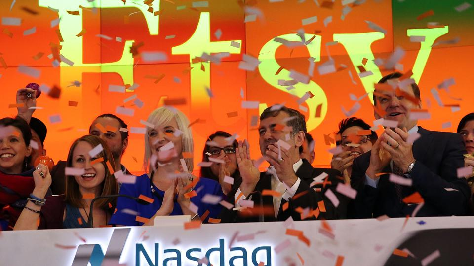 Online Marketplace Etsy, Inc. Debuts On Nasdaq Stock Exchange