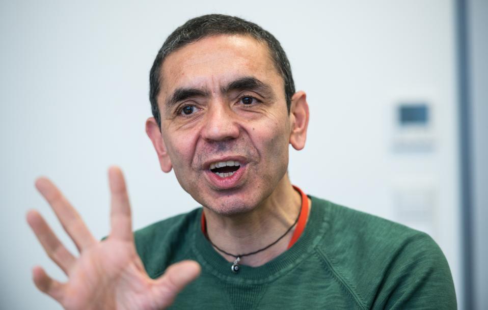 BioNTech CEO Uğur Şahin.