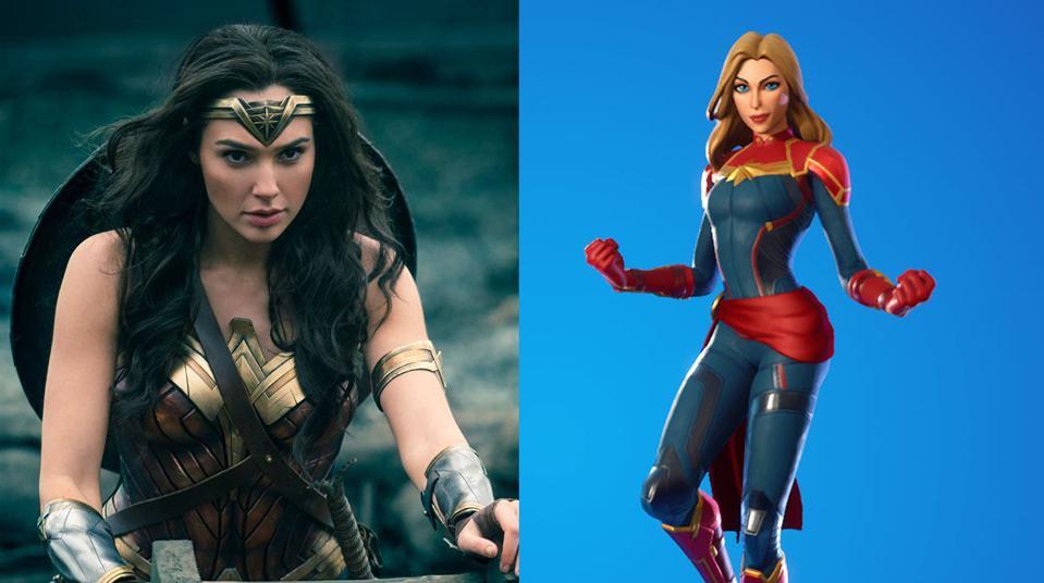 Wonder Woman/Fortnite